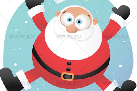 Jumping Santa