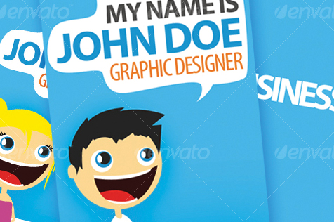 Hello There Business Card – Creation Kit